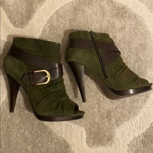 I•N•C Opened toes booties size 6.5